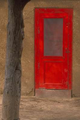 Red Door at Taos by Gary Thompson